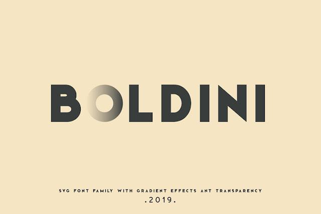 Boldini Font Family Download Font Free