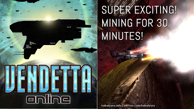 SUPER EXCITING! MINING FOR 30 MINUTES! [Vendetta Online Gameplay 2020]