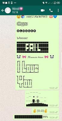 2 Cara Membuat Tulisan Cantik di Whatsapp Dengan Mudah