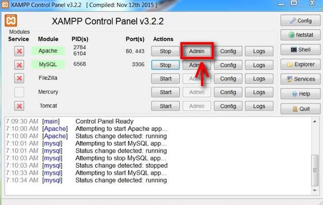 Cara Instal XAMPP - 9