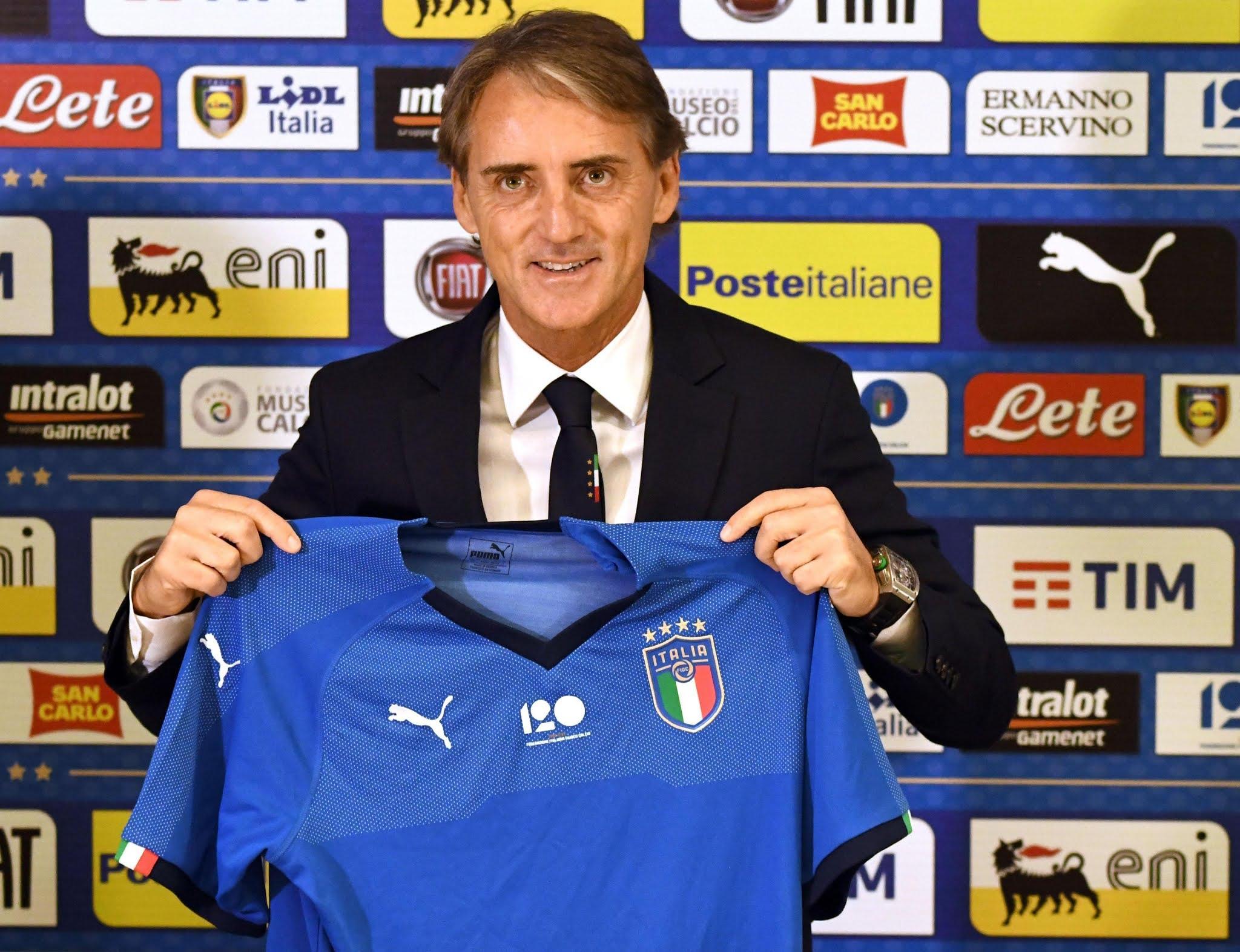 Italian boss Roberto Mancini