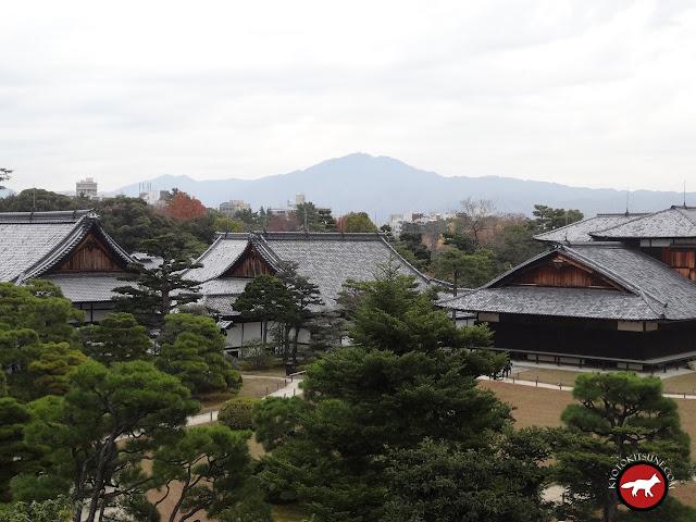 Bâtiment principaux du chateaux Nijo