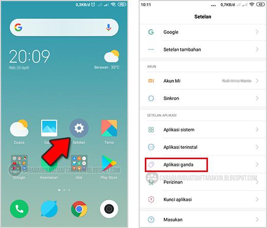 Tanpa Apps Cara Membuat Menggunakan 2 Akun Whatsapp Di 1 Hp Xiaomi