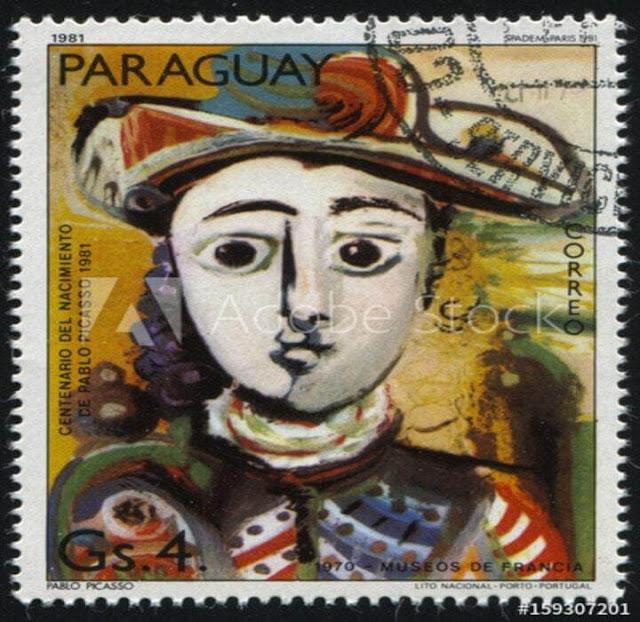 لوحة تشكيلية للفنان بابلو بيكاسو Pablo picasso