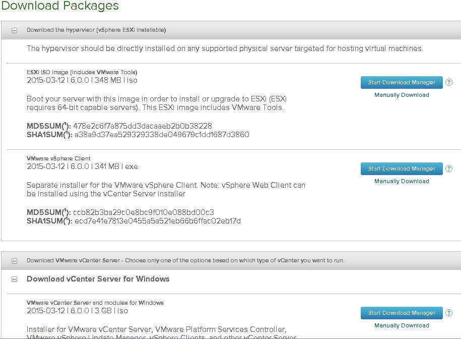 VMware vSphere 6: download disponível!