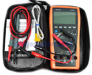 VC97 auto range DMM AC DC Voltmeter Capacitance Resistance digital Multimeter