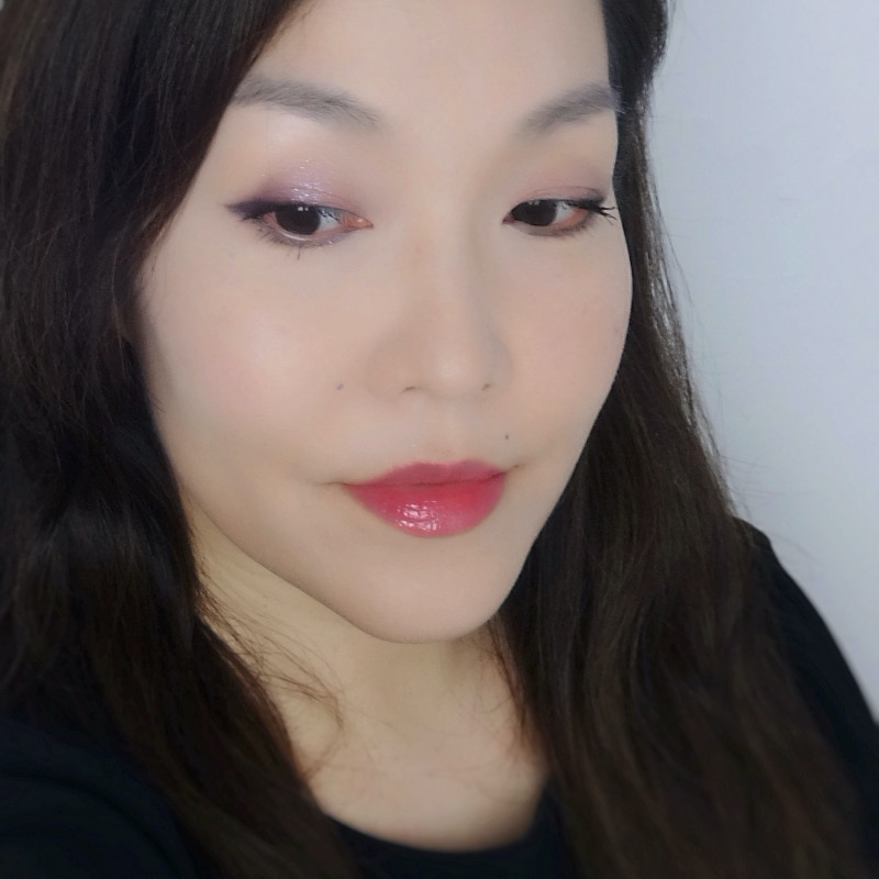 Dear Dahlia Spring Bouquet Palette makeup look
