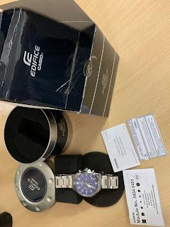 Đồng hồ NAM Casio Men's Edifice Quartz Watch EFV-510D-2AVCF - 2