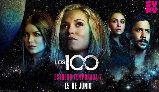 The 100 séptima temporada en Syfy