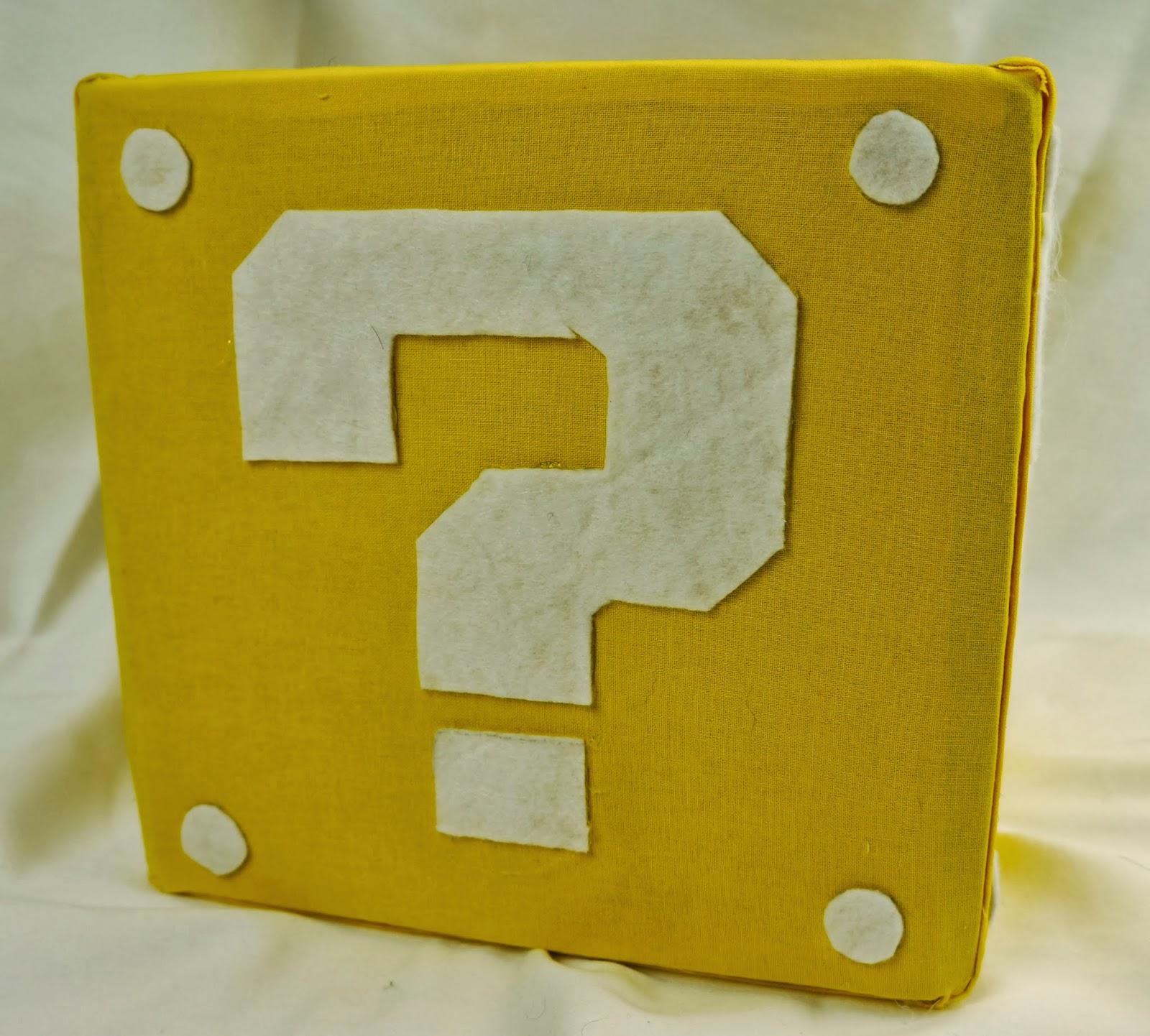 Otaku Crafts Mario Block Fabric Storage Cube