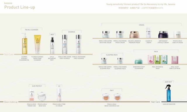 besone products korean cosmetics