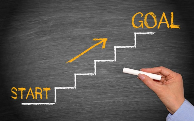 الوصول إلى أهدافك