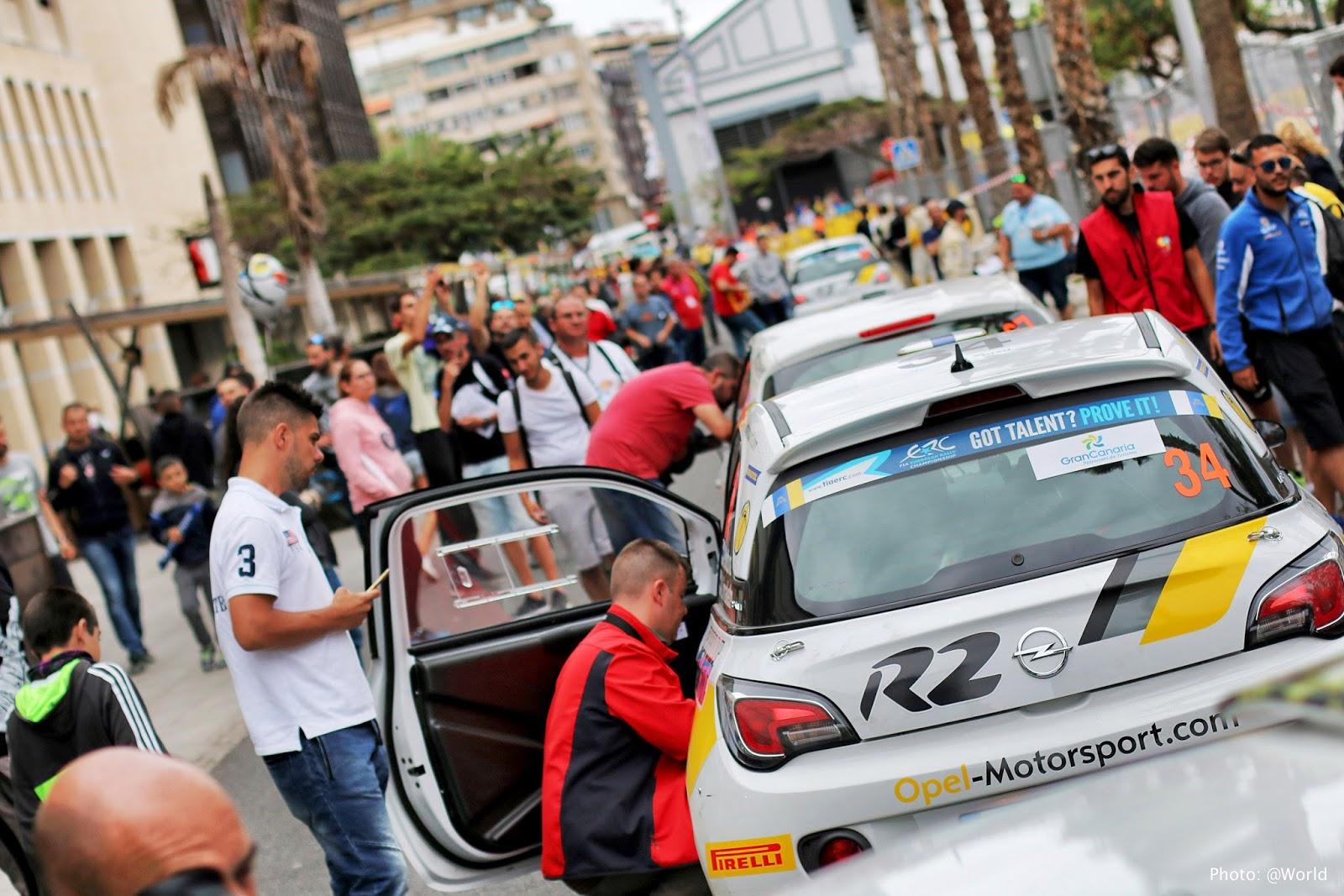 El 42 Rally Islas Canarias contará con cerca de un centenar de ...