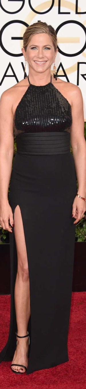 Jennifer Anniston 2015 Golden Globes
