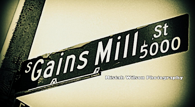 Gains Mill Street, Las Vegas, Nevada by Mistah Wilson