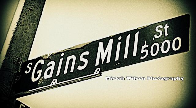 Gains Mill Street, Las Vegas, Nevada by Mistah Wilson