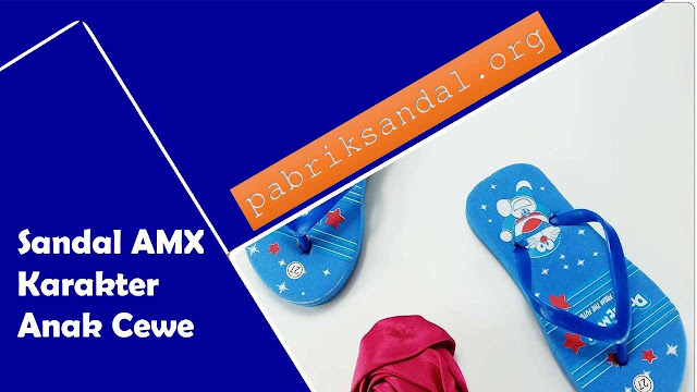Sandal Karakter Anak Murah- AMX Karakter Anak Cewe