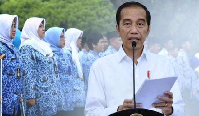Surat Terbuka PNS Ke Jokowi: Apa Kami Bukan Rakyat Indonesia?