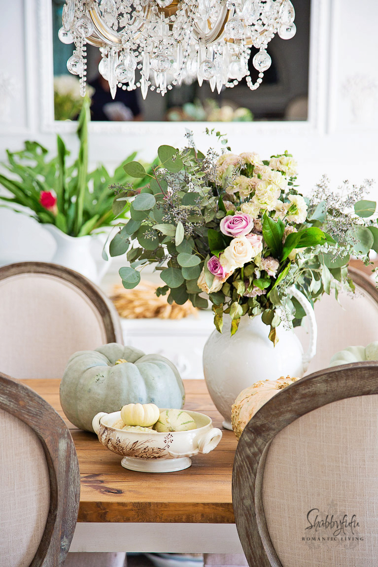 Seasonal harvest table decorations ideas shabbyfufu