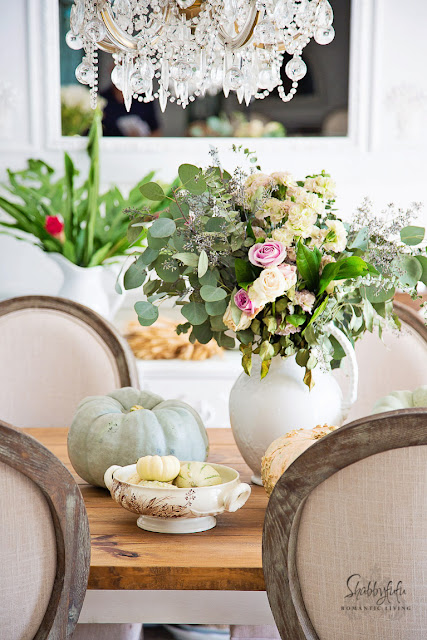 french country cottage dining room