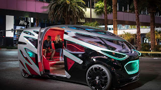 Mercedes-Benz Vision Self-Driving Urbanetic Electric Concept