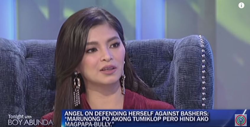 """Marunong po akong tumiklop pero hindi ako magpapa-bully."" Angel Locsin On Defending Herself Against Bashers!"