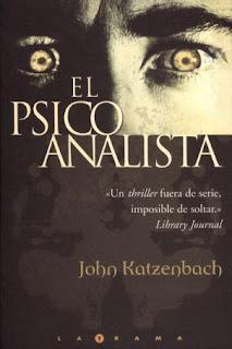 portada del libro el psicoanalista de john katzenbachç