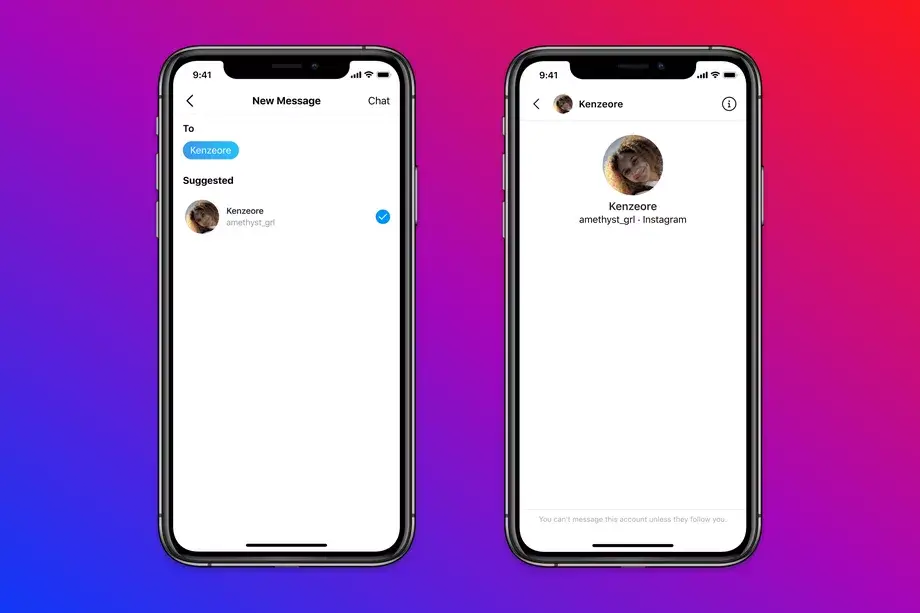 Instagram will no longer let adults message teens