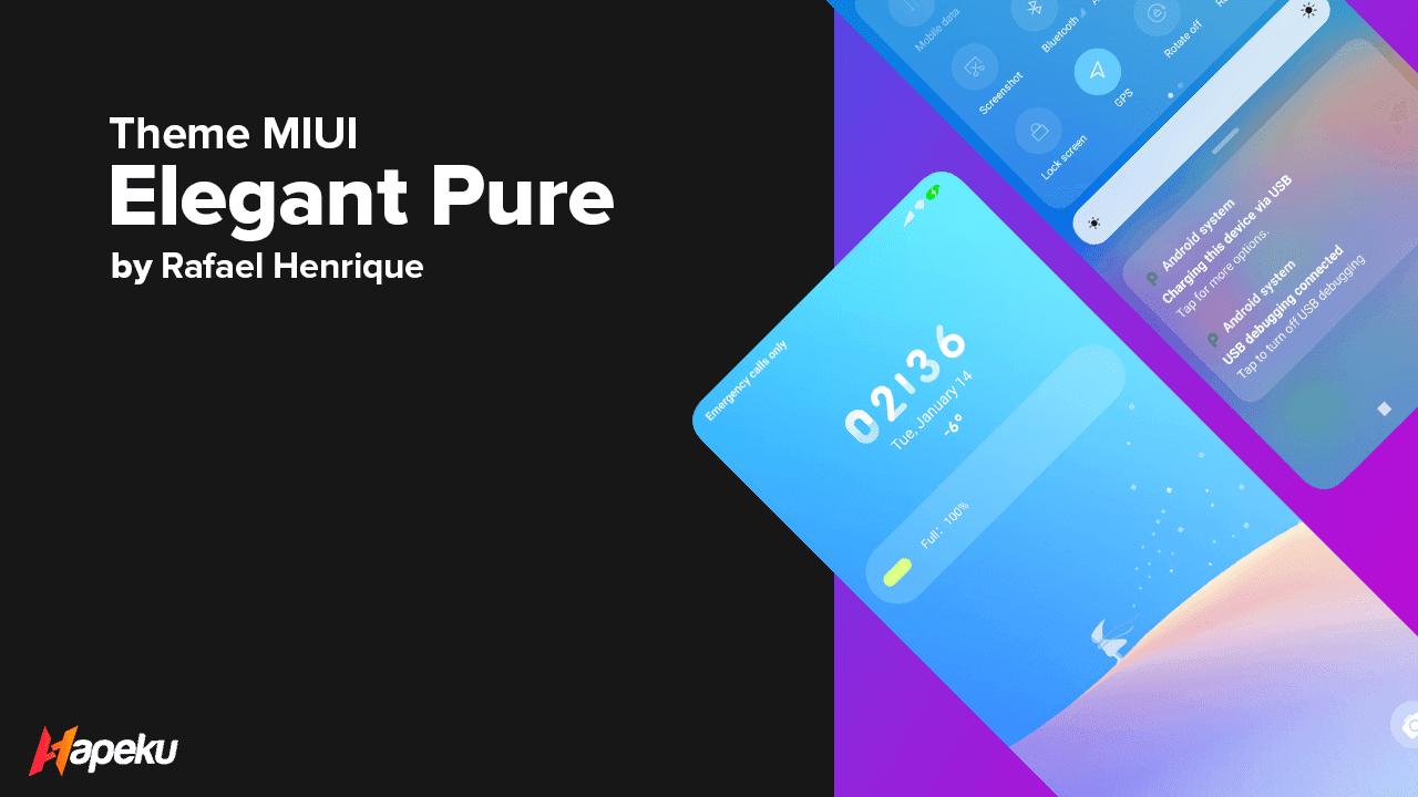 Theme Elegant Pure for MIUI 10 & 11