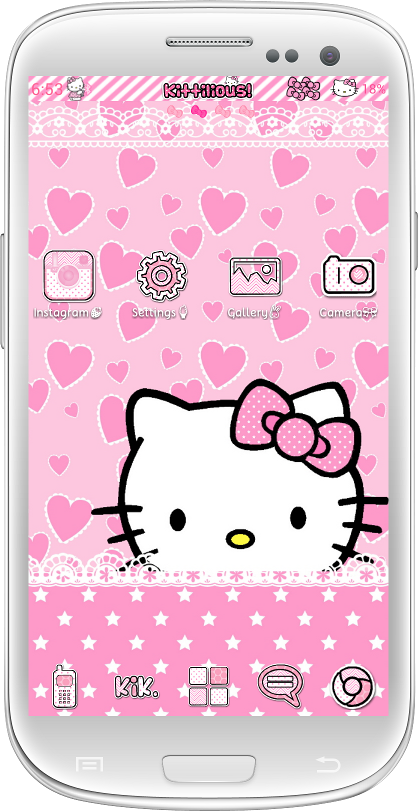 Pretty Droid Themes Kittilicious Themes For Android A