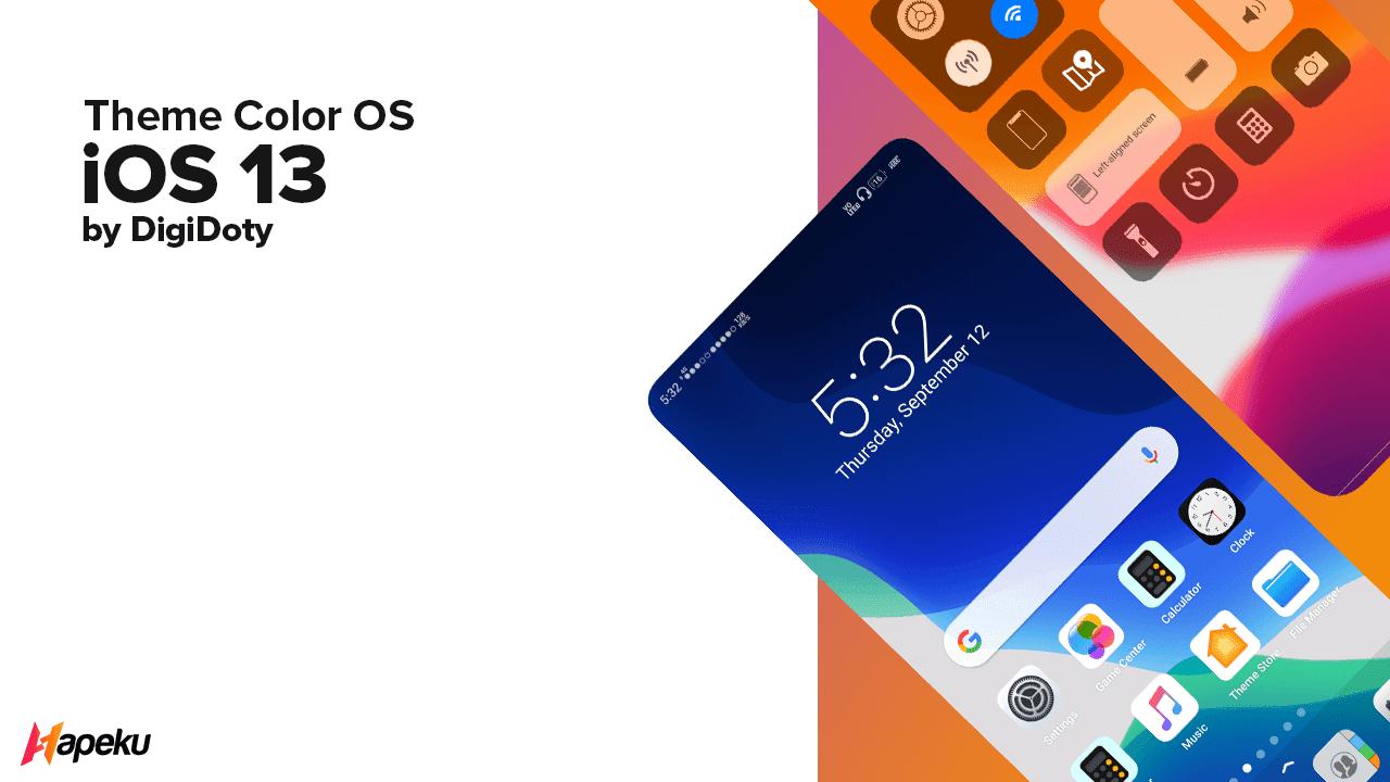 Theme IOS 13 for Color OS ( OPPO & REALME )
