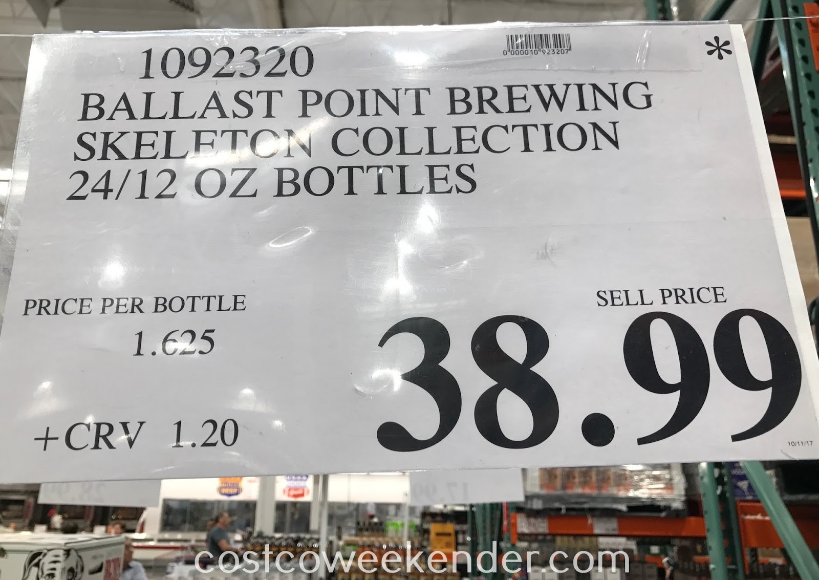 Deal for the Ballast Point Brewing Skeleton Collection at Costco