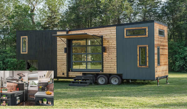 Modern, Tiny House and High-end RV Hybrid | PintFeed