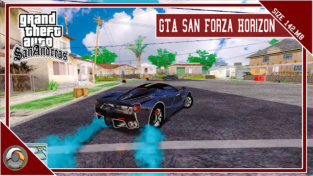 GTA San Andreas Forza Horizon Mod Pack