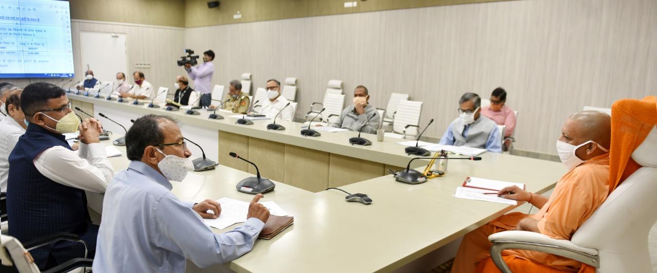 मुख्यमंत्री योगी ने भर्ती प्रक्रिया के सम्बन्ध में विभिन्न भर्ती बोडों के अध्यक्षों तथा अधिकारियों के साथ समीक्षा बैठक की