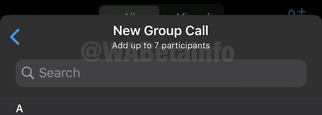 واتساب تتيح الاتصال بأكثر من اربعة أشخاص معا