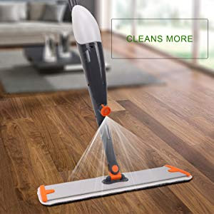Best Spray Mop For Hardwood Laminate Vinyl Tiles Etc