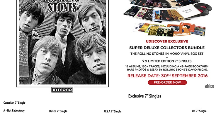 rollingstonesvaults: THE ROLLING STONES IN MONO