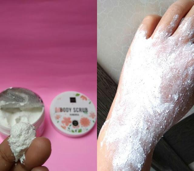 Body scrub scarlett whitening