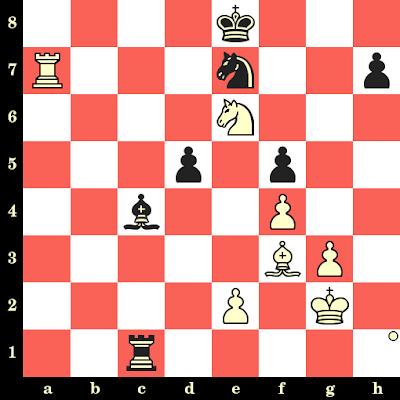 Les Blancs jouent et matent en 4 coups - Miroslav Filip vs Boris De Greif, Portoroz, 1958