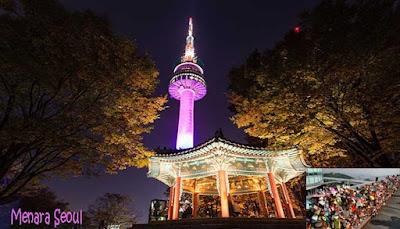 Gembok Cinta Menara Seoul