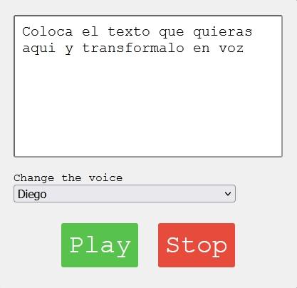 Generador de texto a voz online