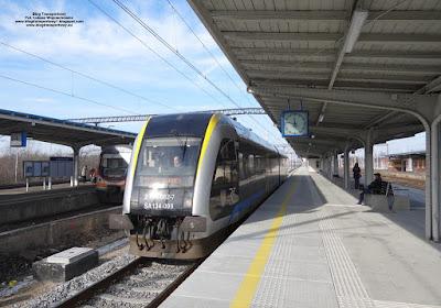 SA134-009, Polregio, Kłodzko Główne - Gliwice, stacja Kędzierzyn-Koźle