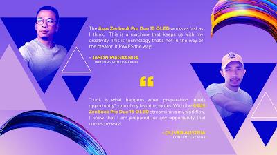 Oliver Austria ASUS ZenBook Pro Duo 15 OLED