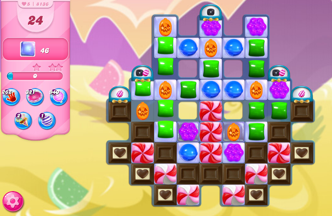 Candy Crush Saga level 8136