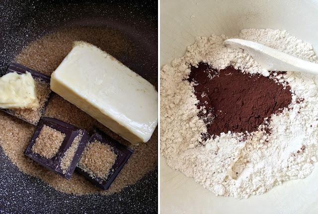 torta soffice di pere e cioccolato fondente