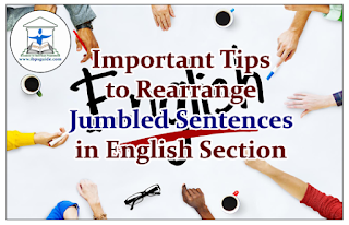 Important Tips to Rearrange the Jumbled Sentences in English Questions
