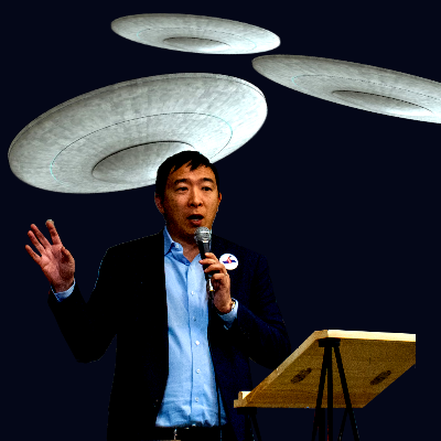 'I'm Very Curious About UFOs,' says Presidential Candidate, Andrew Yang