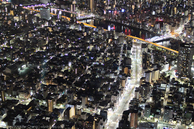 Tokyo City View from Tokyo Skytree