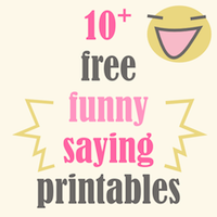 free quote printables